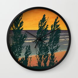 Pinery Provincial Park Poster Wall Clock