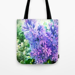 Lilacs in Bloom Tote Bag