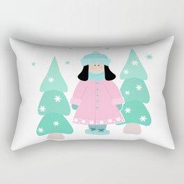 Doll Teddy Rectangular Pillow