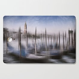 Digital-Art VENICE Grand Canal and St Mark's Campanile Cutting Board