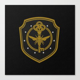 Brakebills embroidered patch - The Magicians Canvas Print