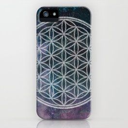 Sacred Geometry Universe 11 iPhone Case