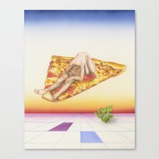 Pizza 69 Canvas Print