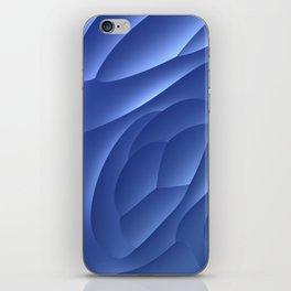 Blue Dune iPhone Skin