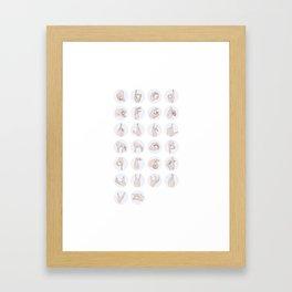 Semiotic Framed Art Print