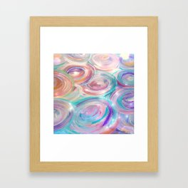 Vortices of Light Framed Art Print