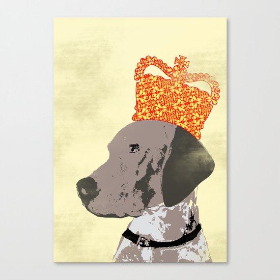 German Shorthaired Pointer Dog Canvas Print