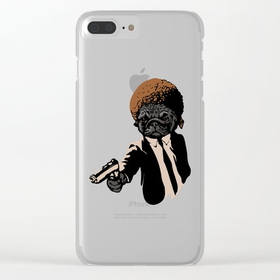 Pugly Clear iPhone Case