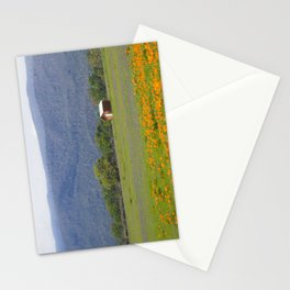 Little House in a Prairie of Wildflowers Stationery Cards