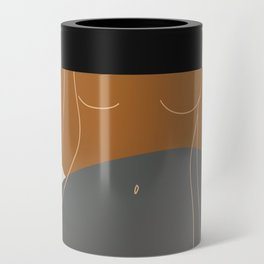 Line Female Figure 81 Can Cooler