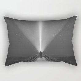 Searching the Skies Rectangular Pillow