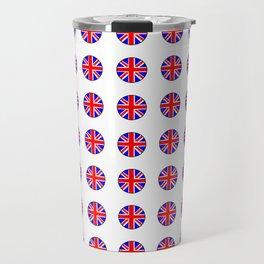 Flag of UK 15- London,united kingdom,england,english,british,great britain,Glasgow,scotland,wales Travel Mug