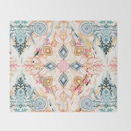 Wonderland in Spring Throw Blanket