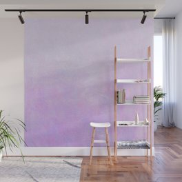 Lilac Ombre Wall Mural