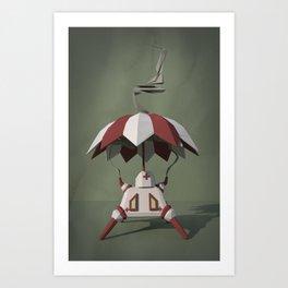 Brella-Bot Nurse Art Print