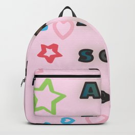 You are awesome / Typography Design Backpack