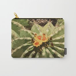 Bishop's Cap Cactus Carry-All Pouch