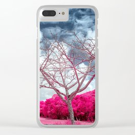 Dry branches Clear iPhone Case