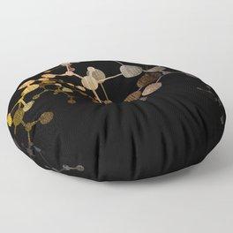 Metallic Molecule Floor Pillow