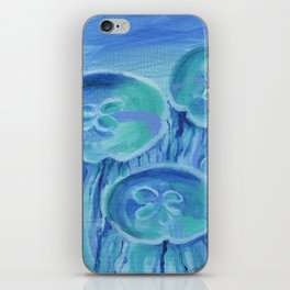 Striated Jelly Moons iPhone Skin