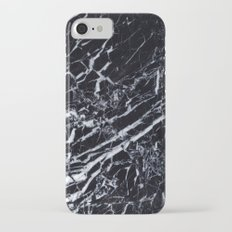 Real Marble Black iPhone 7 Slim Case