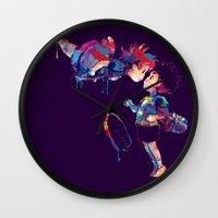 ponyo Wall Clocks featuring Ponyo by lauramaahs