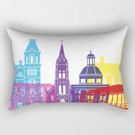 Athens OH skyline pop Rectangular Pillow