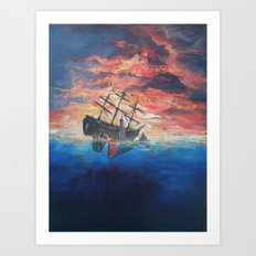 Sailor's Warning Art Print