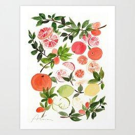 vitamin c Art Print