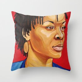Sandra Bland Throw Pillow