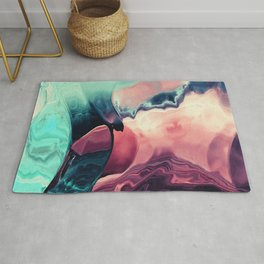 Feel the Clashing wave Rug