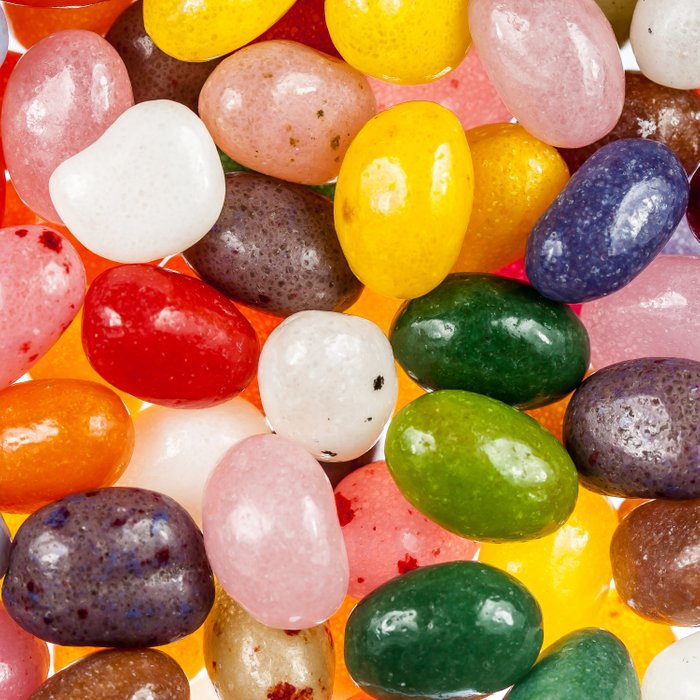Cool colorful sweet Easter Jelly Beans Candy Comforters