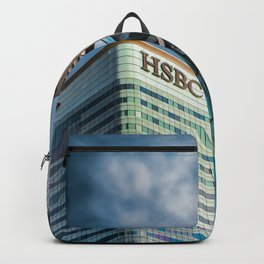 London Photography Canary Wharf HSBC Tower Backpack