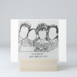 Seinfeld Sketch Mini Art Print