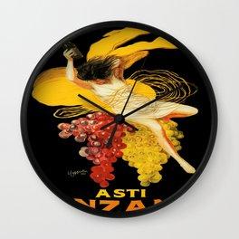 Vintage poster - Asti Cinzano Wall Clock