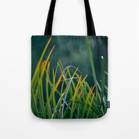 palm Tote Bags featuring PALM by My Dear Bambi
