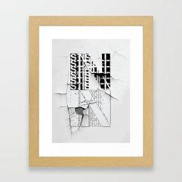 in_still Framed Art Print