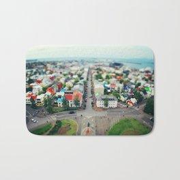 Reykjavik, Iceland Bath Mat