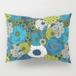 Vintage Florals Chrysanthemum Pillow Sham