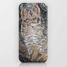 Owl Mosaic Slim Case iPhone 6s