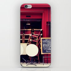 anticipation iPhone & iPod Skin