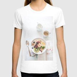 breakfast #buyart #society6 T-shirt