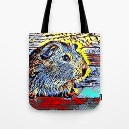 Color Kick - Guinea pig Tote Bag