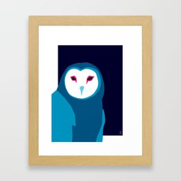 Fancy Owl Framed Art Print