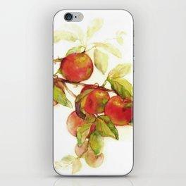 Autumn Apples iPhone Skin