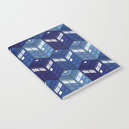 Infinite Phone Boxes Notebook