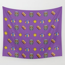Awesome Mix Vol 1- Space Gem Purple Wall Tapestry