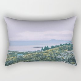 Country Cottage Rectangular Pillow