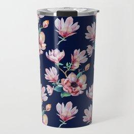 Romantic Floral Seamles Pattern 2 Travel Mug