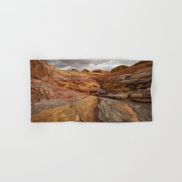 Canyon Overlook - Valley_of_Fire_State_Park, Nevada Hand & Bath Towel